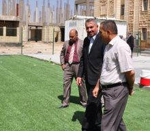 جامعة كربلاء تقيم حملة لتطوير البيئة الجامعية