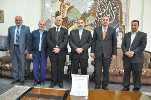 القنصل الايراني1