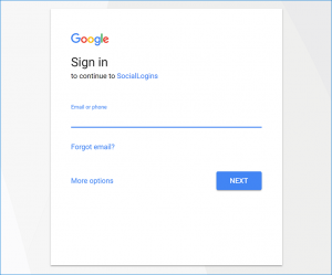 googlelogin